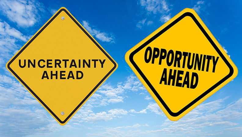 Opportunities in times of uncertainty